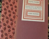 """Love Poems Together with the Devotion """"For Whom The Bell Tolls"""" John Donne 1940s"""