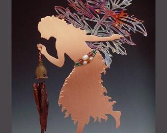 Wind Chime-Valerian Copper Fairy
