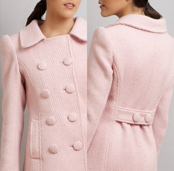 BLACK SWAN Natalie Portman's Pink Coat Nina Sayers wool winter limited edition M