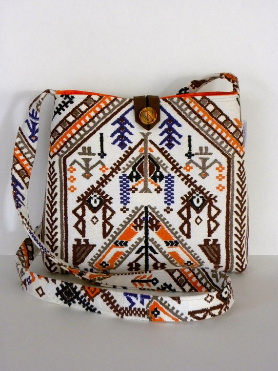 Messenger Bag - Mexican Folk Inspired, Over 80 admirers  (see video)