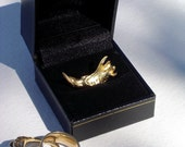 Animal Bone Art with Gold Leaf