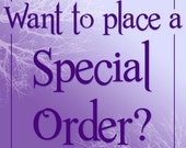 Special Order - Single Item