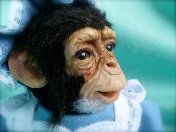 Items Similar To Baby Chimp Chimpanzee With Clothing