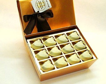 Creek House White Chocolate Swan Truffles, Choose from 2 Sizes