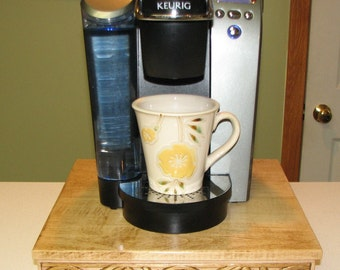 Handcrafted Solid Maple Keurig K Cup Drawer