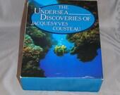 Vintage Set of Jacques Coustea books