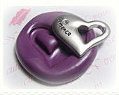 Heart flexible silicone mold / mould