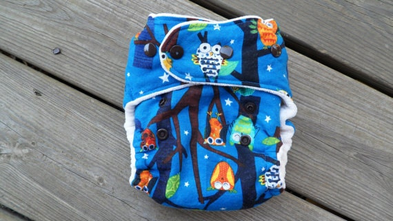 On a Whim Fitted Cloth Diaper