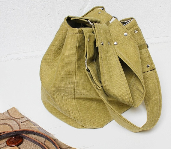 SALE   Pistachio Hobo Tote Bag