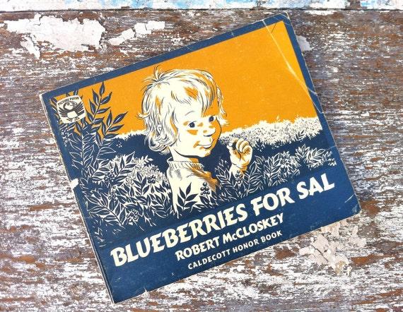 Blueberries For Sal Vintage Childrens Book