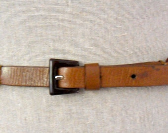PRADA Chocolate Brown Belt