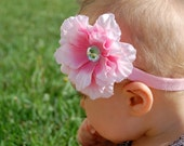 Custom Order:  Pink Peony on a Clip/Pin
