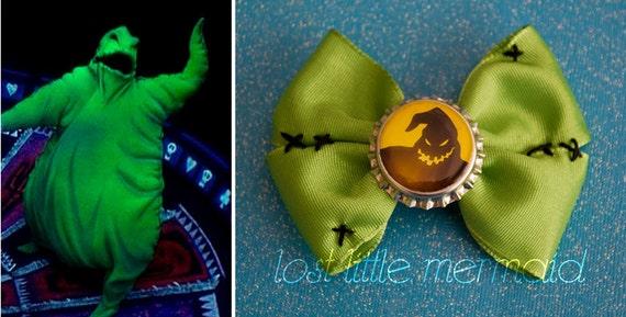 Mr. Oogie Boogie Bow / Nightmare Before Christmas Inspired