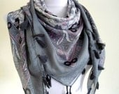 Traditional Turkish-style, shawl, scarf ,fantasy, stylish fashion,2012,gift, winter trends, spring celebration
