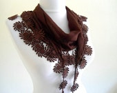 Traditional Turkish-style,coffee, Necklace scarves,Headband, scarf, gift,  fashion, 2012, Special Fashion, spring celebration, mothers day