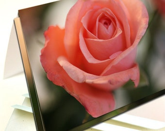 Pink Rose Note Cards