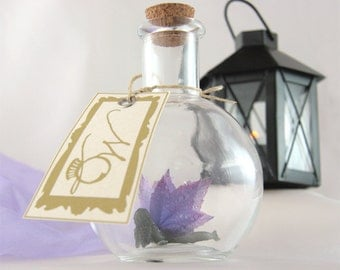 Evening fog Faerie - Fairy in a Bottle MADE TO ORDER