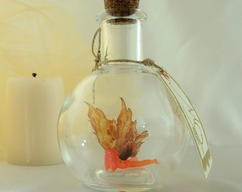 Fire Faerie - Fairy in a Bottle MADE TO ORDER