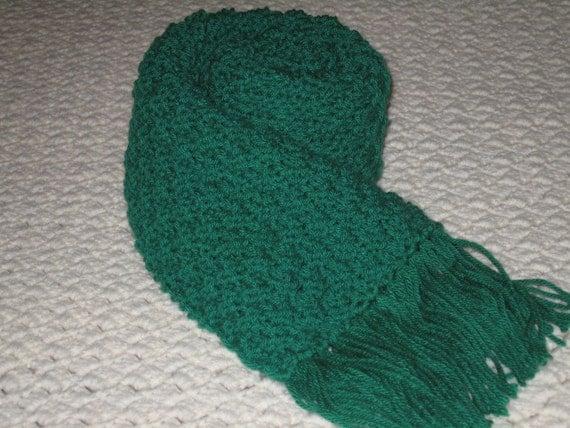 Fashionable Green Scarf