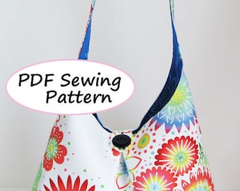 PDF Sewing Pattern -Shoulder Bag-(Downloadable)