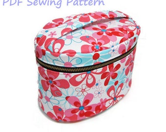 PDF Sewing Pattern -Vanity Pouch-(Downloadable)