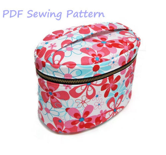 PDF Sewing Pattern -Vanity Pouch-