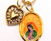Necklace:Our Lady of Guadalupe Good Luck Charm