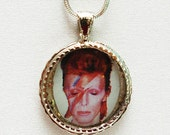 David Bowie Charm Necklace