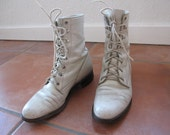 RESERVED - Vintage Leather Justin Roper Boots women's size 5