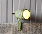 Original deco style clamp light, circa 1930s