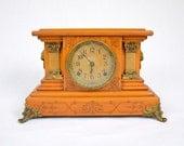 Antique Seth Thomas Adamantine Mantel Clock (Reserved for David)