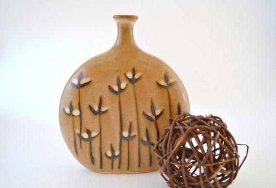 "Vintage Handcrafted ""Mara"" Pottery Vase"