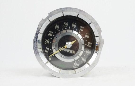 Vintage Speedometer with Odometer
