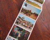 Vintage Disneyland Postcard Folio With Twelve Scenes 1960s