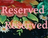 RESERVED FOR ASHEA