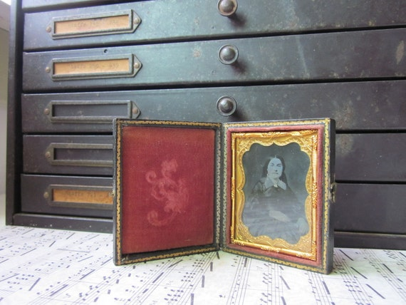 Tintype in Travel Case