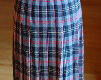 pendleton pleated wool skirt