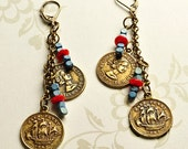 Coin Earrings
