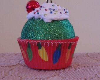 Christmas Ornament / Cupcake Ornament