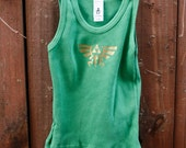 CYBER SALE - Baby Tank - Limited Edition - Zelda Hyrule Crest/Triforce Tank for Babies - Size 6M-12M