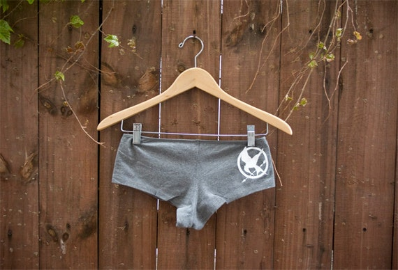 SALE Hunger Games Mockingjay Shortie Panties - Ready to Ship - Choose Size: Small or Medium