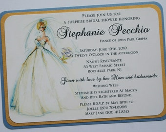 Princess Bride Bridal Shower Invitation