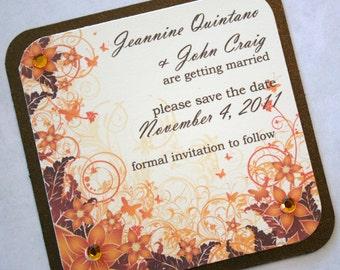 Autumn Elegance Save the Date