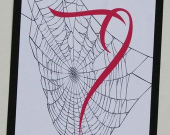 Spiderweb Table Numbers
