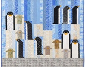 Calling All Penguins Quilt Pattern
