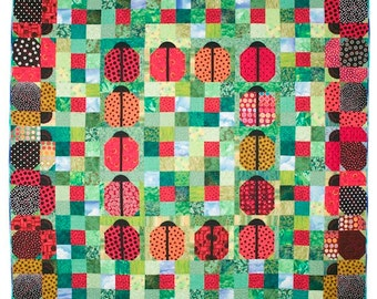 Ladybugs on Parade Quilt Pattern