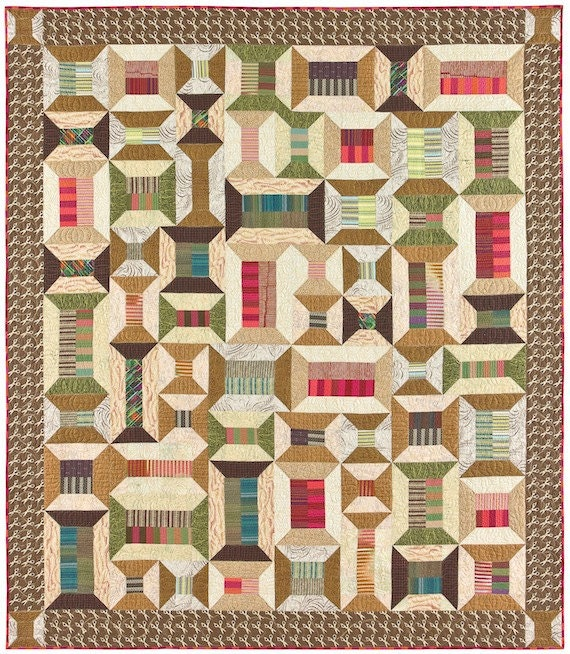 Spoolin' Around Quilt Pattern from lnownes on Etsy Studio