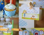 Fall Pumpkin Patch COMPLETE party package - Personalization available