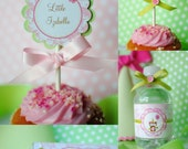 Printable Girly Owl Birthday COMPLETE Party Package
