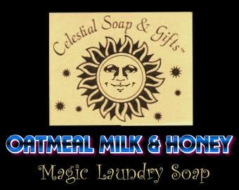 Oatmeal Milk & Honey Natural Laundry Soap Powder  Bag Vegan 40-80 Loads Gross Wt. 44 oz. Detergent